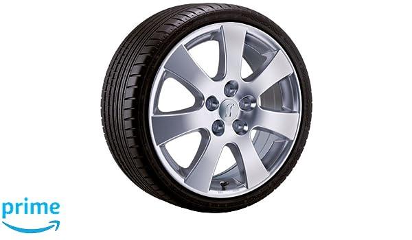 De aluminio - Rueda para invierno Rondell 045 F en 16 pulgadas con 205/60 R 16 96 H Continental Conti Invierno Contact ts830 P para Opel Astra Caravan - J ...