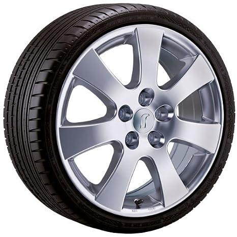 Amazon.es: De aluminio - Rueda para invierno Rondell 045 F en 16 pulgadas con 205/55 R 16 91 H Semperit Speed de Grip 2 para Renault Megane Tipo M