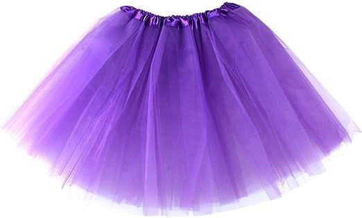 HDMI SM Tutu Falda para Mujer y niña. Falda para Ballet Color ...
