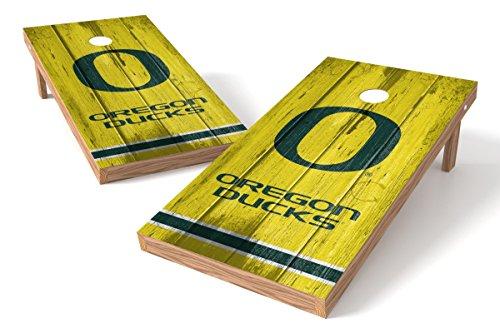 Oregon Ducks Cornhole Board Set - Vintag - Oregon Ducks Nfl Shopping Results
