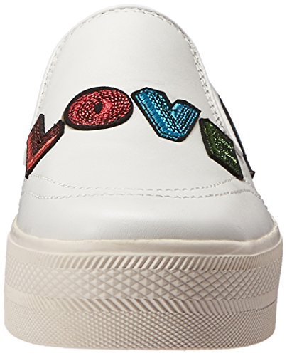Sneaker Di Moda Femminile Di Frassino Bianco / Bianco