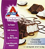 Atkins Endulge Chocolate Coconut Bar - 1.4 Oz, 5 Pack