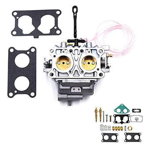 (Carbman 15003-2766 for Kawasaki Mule 3000 3010 3020 2001-2008 CARB + 2 Gaskets + 1 Set of Carb Repair Kit)