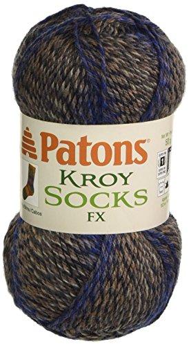 (Spinrite Kroy Socks FX Yarn, Chambray Colors)
