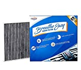 Automotive : Installer Champ Premium Breathe Easy Cabin Filter, Up to 25% Longer Life w/Activated Carbon (BE-729)
