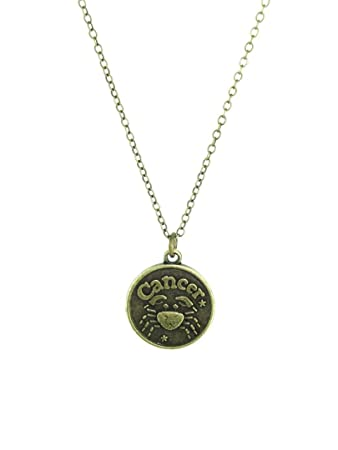 Cancer Star Sign Necklace Amazon Sports Outdoors