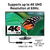 Club3D CAC-1070 Displayport 1.2 to HDMI 2.0 UHD