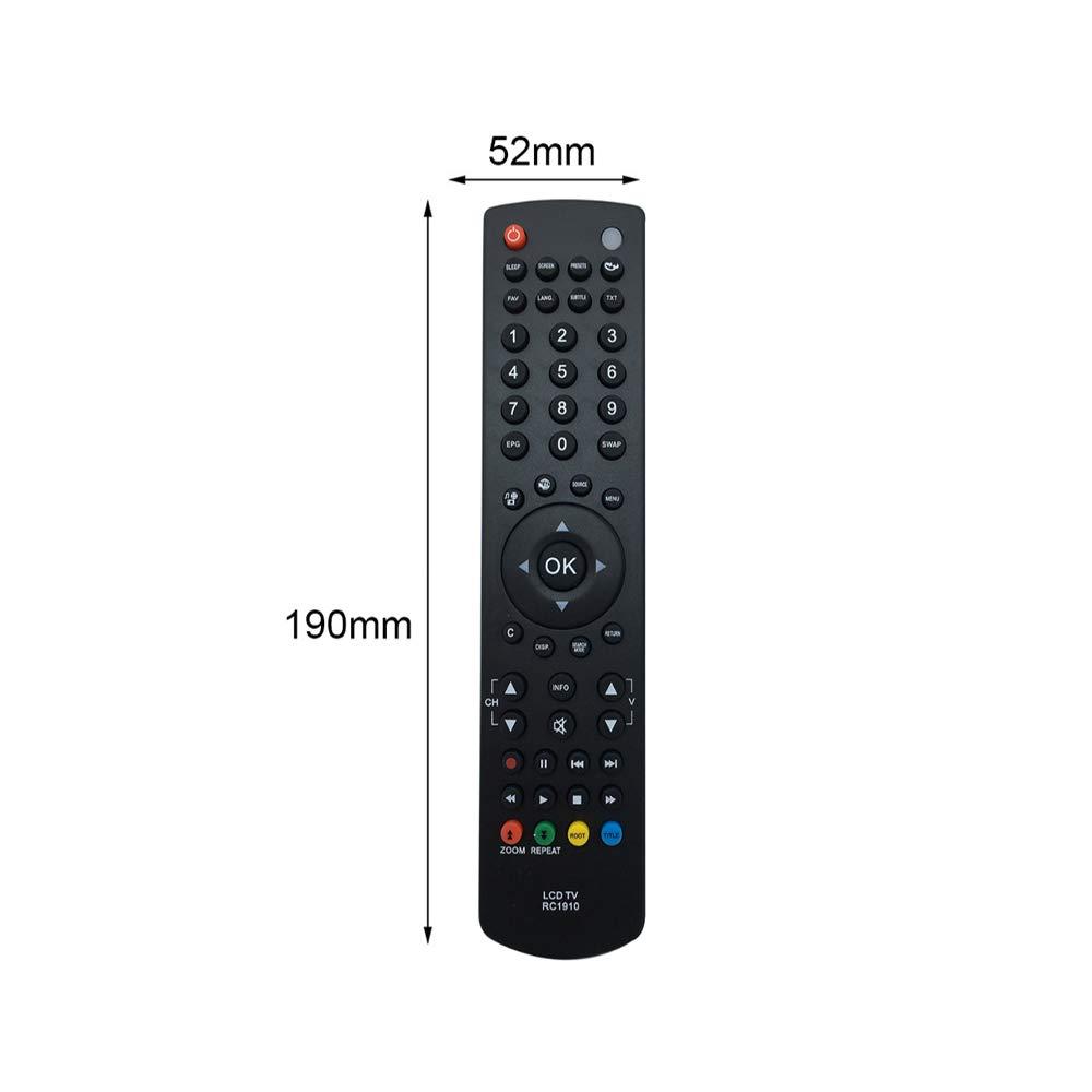 Telecomando universale per RC1910 TV Telecomando intelligente senza fili di ricambio per Toshiba RC1910