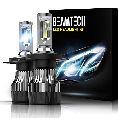 BEAMTECH H4 LED Headlight Bulbs,6500K 10000 Lumens for sale  Delivered anywhere in USA