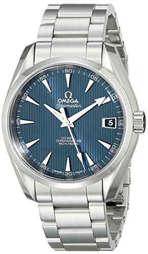 Omega-Mens-23110392103001-Analog-Display-Automatic-Self-Wind-Silver-Watch
