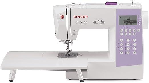 Singer máquina de coser y serge computarizada de 1000 puntadas con mesa de extensión, funda de transporte suave y paquete de accesorios increíbles: Amazon.es: Hogar