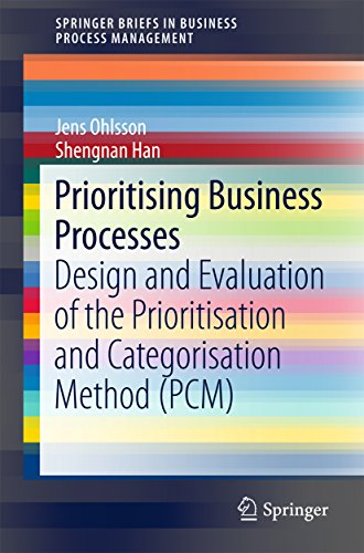 Prioritising Business Processes: Design and Evaluation of the Prioritisation and Categorisation Method (PCM) (SpringerBriefs in Business Process Management)