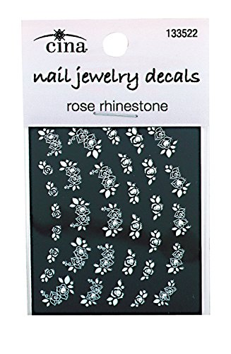 Cina Nail Creations Precious Petals Rhinestone Art Jewelry Decals Roses Buy Online In Bahamas Cina Nail Creations Products In Bahamas See Prices Reviews And Free Delivery Over Bsd80 Desertcart