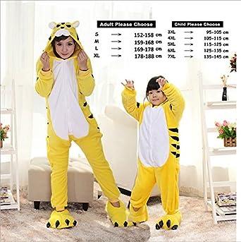 Amazon.com  MH-RITA Animal Pajamas Cute Unicorn Tiger Panda Cartoon ... 27df04119
