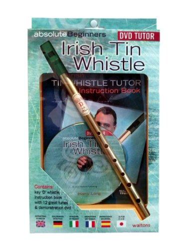 Absolute Beginners Irish Tin Whistle & DVD Pack