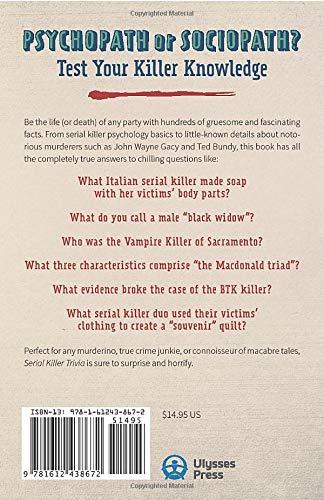 Serial Killer Trivia: Fascinating Facts and Disturbing