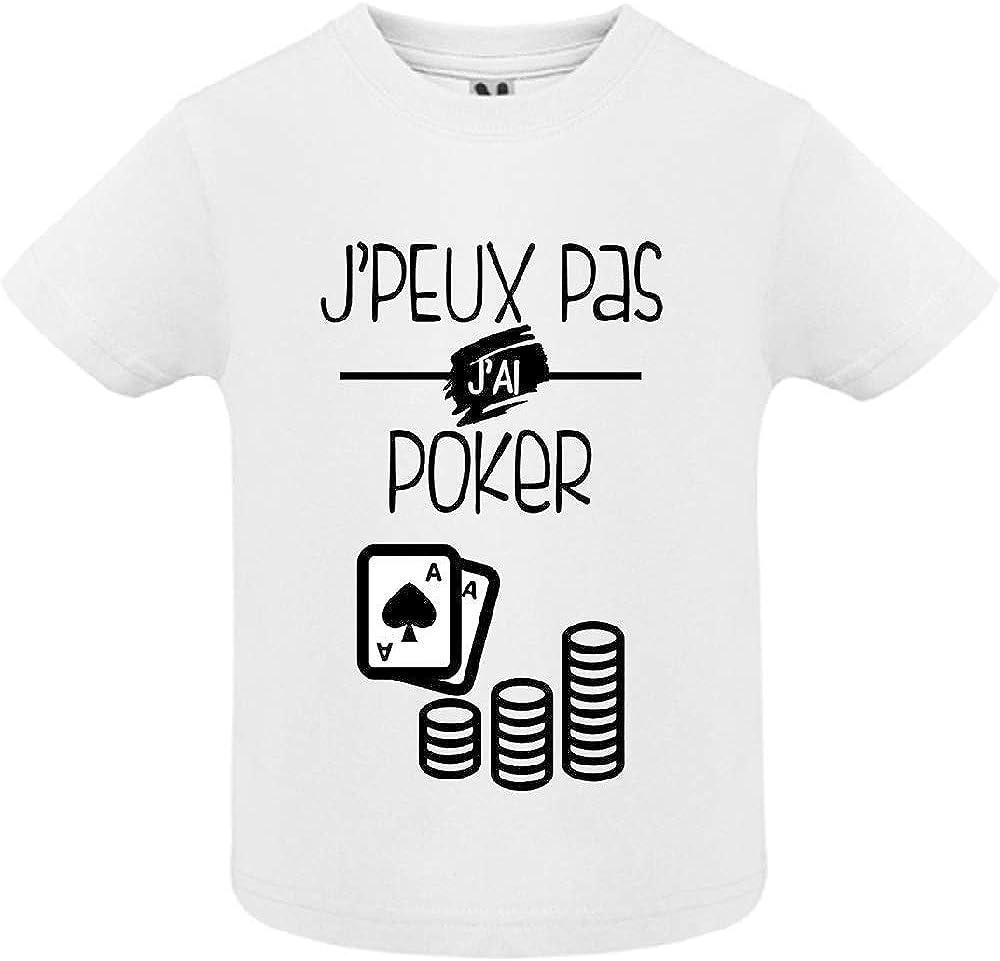 J Peux Pas j AI Poker LookMyKase Body b/éb/é B/éb/é Fille