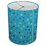 Hardback Linen Drum Cylinder Lamp Shade 8'' x 8'' x11'' Spider Construction [ Gaming Polygon ]