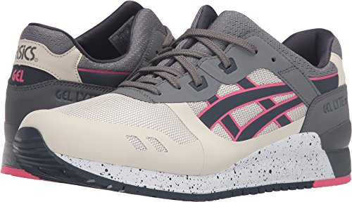 ASICS Men's Gel-Lyte III NS Fashion Sneaker, Off-White/India Ink, 10 M US