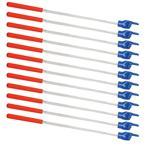ETA hand2mind Telescoping Hand Pointers (Pack of 12) (Common Halloween Costumes)