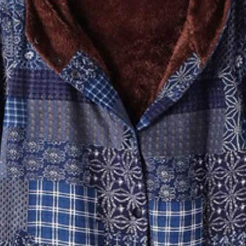 Più Lunghe Stile B Cotone Con Sciolto Distintivo Multicolore Maglione Camicetta Inverno Sweatshirt Maniche In Cappotto Hoodie Donna Qinsling Dolcevita Di Etnico Velluto Felpa Stampa Cappuccio 0wxxazqg