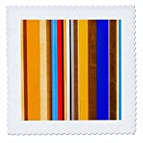 3dRose Alexis Photography - Abstracts - Colorful geometrical abstract of metal and wood - 22x22 inch quilt square (qs_267266_9)