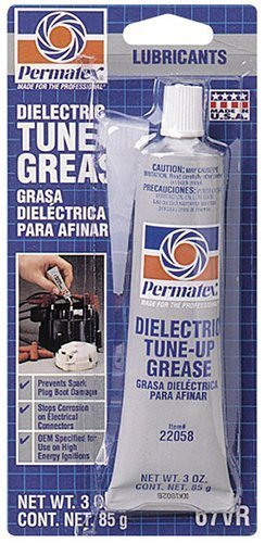 Permatex 22058-6PK Dielectric Tune-Up Grease, 3 oz. (Pack of 6) Size: 3 Ounce (Pack of 6), Model: 22058-6PK, Outdoor&Repair Store