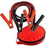 Jumper Cables 4 Gauge Heavy Duty Auto Booster Cables with Travel Bag 10 Ft 1000AMPs for Cars Trucks Vans SUVs