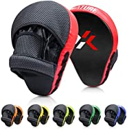 Xnature Boxing Pads Focus Mitts,Punching Mitts Great for MMA, Martial Arts, Kickboxing,Muay Thai, Kickboxing,H