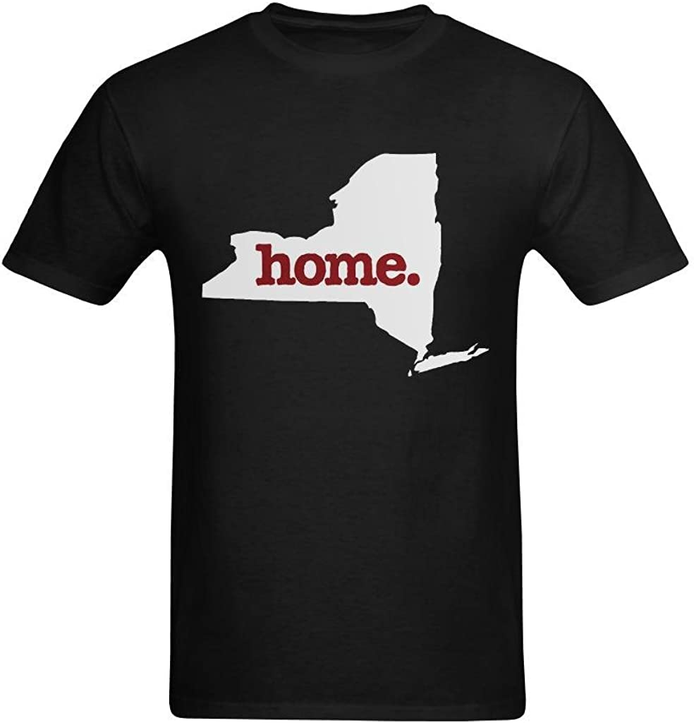 youranli Hombres de Nueva York NY Estado de origen ratón pad-mousepad Vintage envejecido suave tee-shirts