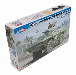 Hobby Boss M706 Commando Armored Car Vietnam Vehicle Model Building Kit by Mmd Holdings Llc