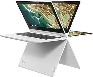 Lenovo Chromebook 2-in-1 Convertible Laptop, 11.6-Inch HD (1366 x 768) IPS Display, MediaTek MT8173C Processor, 4GB LPDDR3, 32GB eMMC, Chrome OS, Blizzard White (Renewed)