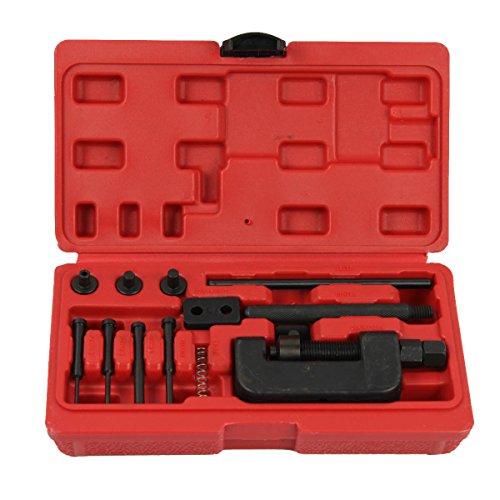 ctool Chaîne pour disjoncteur et outils de rivetage Rivets, YTV/vélo/moto/Cam drive-sizes 428/520/530
