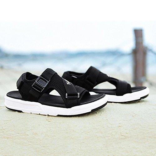 Casual da Traspiranti Estivi Black Scarpe Uomo Suola Spiaggia Antiscivolo Scarpe Antiscivolo da Sandali Sportivi da Uomo Sandali CHENGXIAOXUAN Sandali qI8w5IT