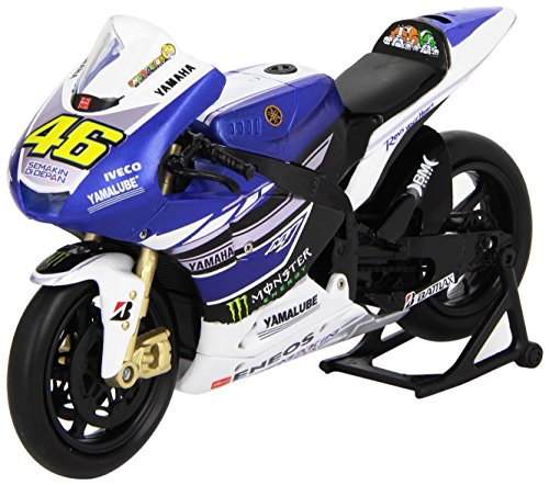 New Ray NR57583 2013 Yamaha YZR-M1 Valentino Rossi Monster Moto GP #46 Motorcycle Model 1/12