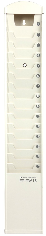 Kartenhalter für 15 Stempelkarten 86 x 180 mm