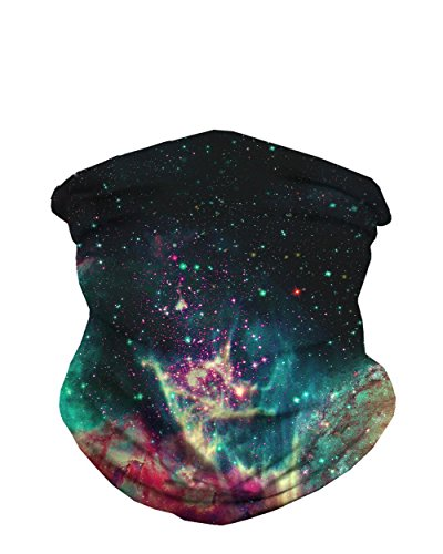 INTO THE AM Space Fade Seamless Mask Bandana