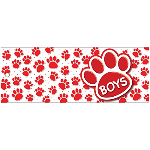 Ashley Productions ASH10733 Boys Pass, Laminated, 9
