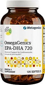 Metagenics OmegaGenics EPA-DHA 720, 120 Count