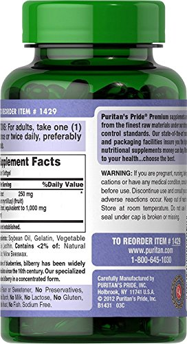 Amazon.com: Capsulas De Arándano Para Mejorar La Vista - Arándano Para La Salud De Tus Ojos - 180 Capsulas: Health & Personal Care