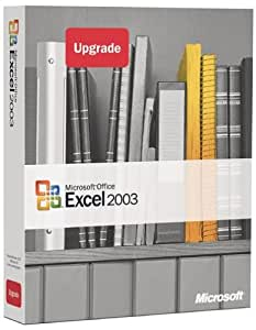 Microsoft Excel 2003 Upgrade [OLD VERSION]