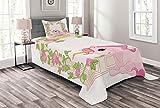 Lunarable Multicolor Bedspread in Colors and Three