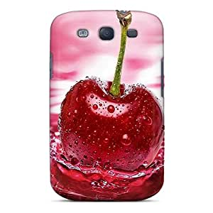 Premium Beautiful Cherry Heavy-duty Protection Case For Galaxy S3