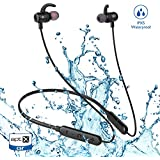 Bluetooth Earbuds, 2019 Best 10hrs Playtime Neckband Bluetooth Headphones Sport,IPX6 Waterproof Wireless Earbuds Bluetooth 5.0 Magnetic Stereo In-ear Earphones for Running Gym Workout,Noise Cancelling
