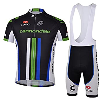 2014 Cannondale Team Black Cycling Jerseys Breathable Shirts 3D gel pad  Ropa Bib Shorts Suit Men s Cycling Clothing Kit (Bib suit 2f010894f