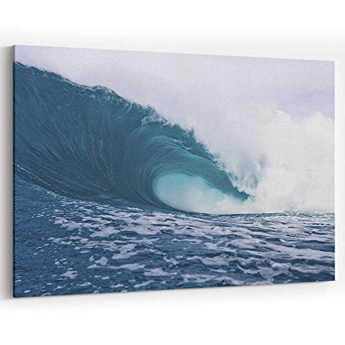 (Eye of The sea Ocean Portrait by Thurston Photo Canvas Prints Wall Art for Modern Home Decor)