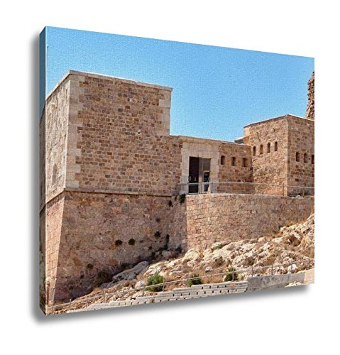 Ashley Canvas, Embankment And Fort Christmas On A Sunny Summer Day Cartagena Spain, Home Decoration Office, Ready to Hang, 20x25, AG6515776 by Ashley Canvas