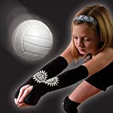 Tandem Sport Volleyball Passing Sleeve, Black, Small/Medium