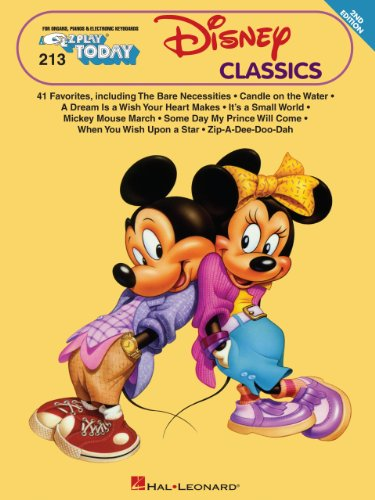 Disney Clasics Songbook: E-Z Play Today Volume 213 (Big Book of Disney - Disney Hours Today