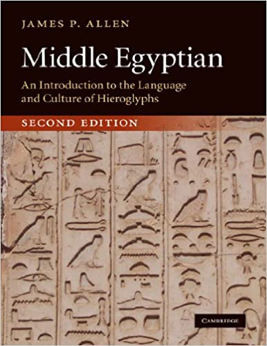 Linguistic Dating Of Middle Egyptian Literary Texts
